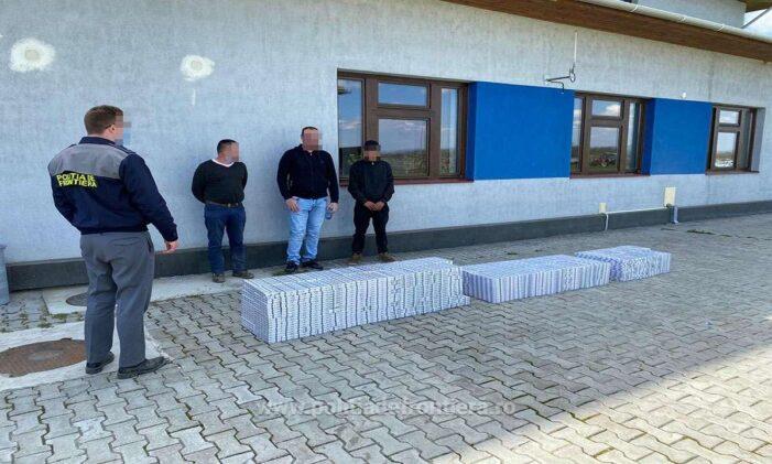 Trei contrabandisti prinși lângă Porumbesti. Unul e minor