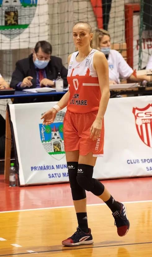 Baschetbalista Claudia Cuic (Pop) merge la Olimpiada de la Tokyo (Foto)