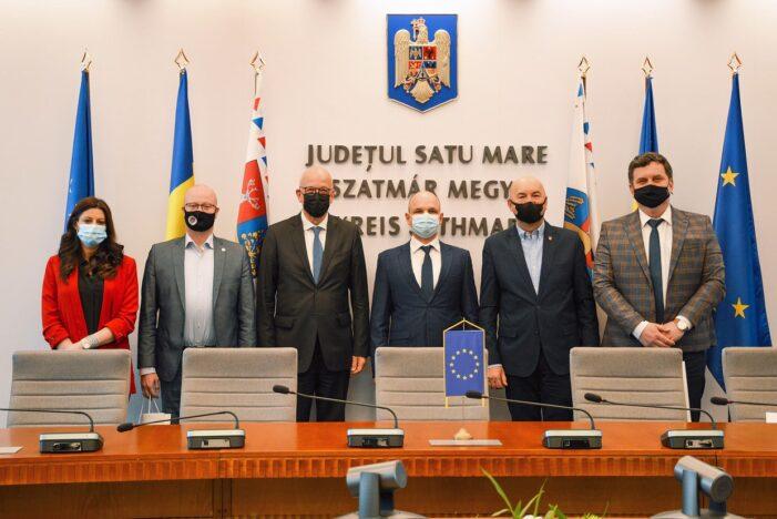 Ambasador neamt, oaspete la Satu Mare (Foto)