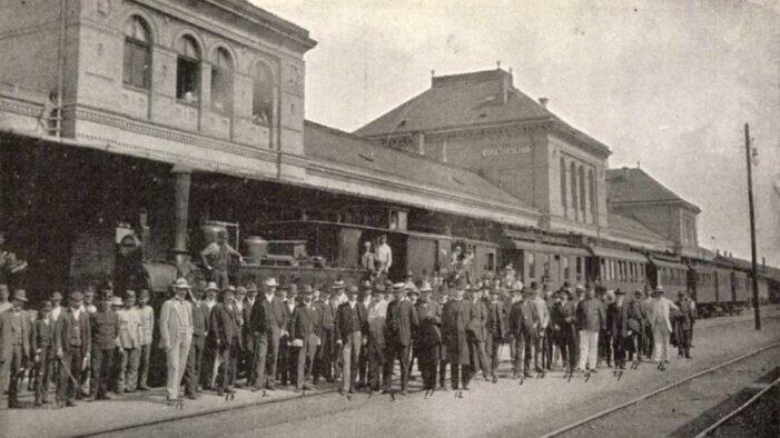 Inaugurare la gara, cu peste 110 ani în urma (Foto)