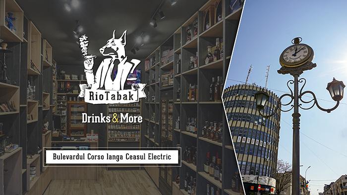 RioTabak Drinks & More Satu Mare deschis și vineri 30 aprilie