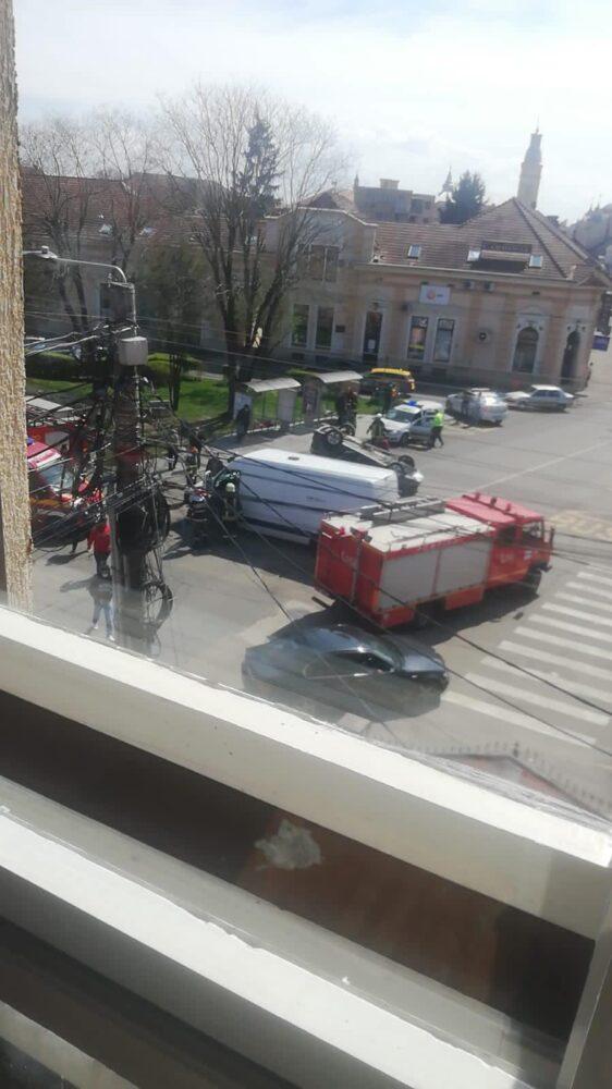 Ce spune Poliția despre accidentul de langa Spitalul Vechi ? (Foto)