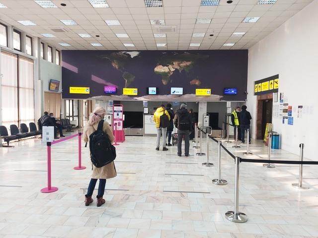 Afisaj digital la Aeroportul Satu Mare