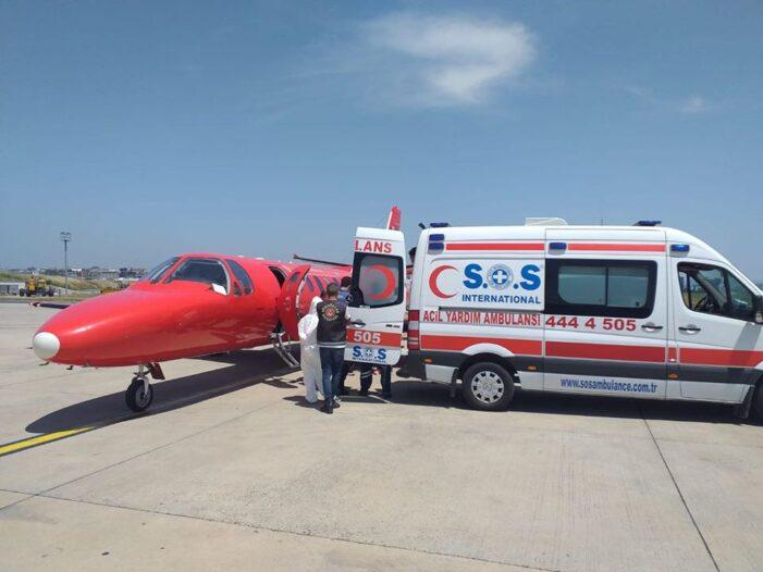 Tanar satmarean cu arsuri grave, transferat cu avionul de la Iasi la o clinica din Graz (Foto)