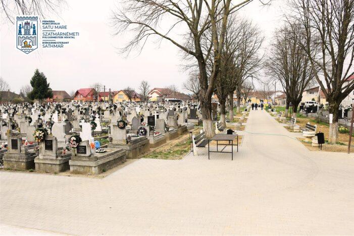 Tehnologie de ultima generatie la un cimitir din Satu Mare