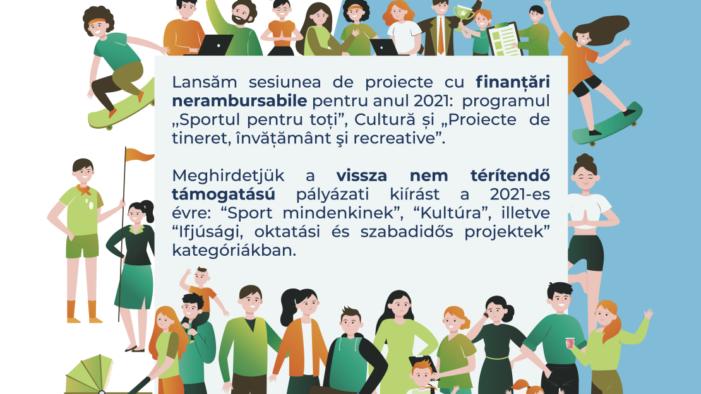 Concurs de proiecte cu finantari nerambursabile
