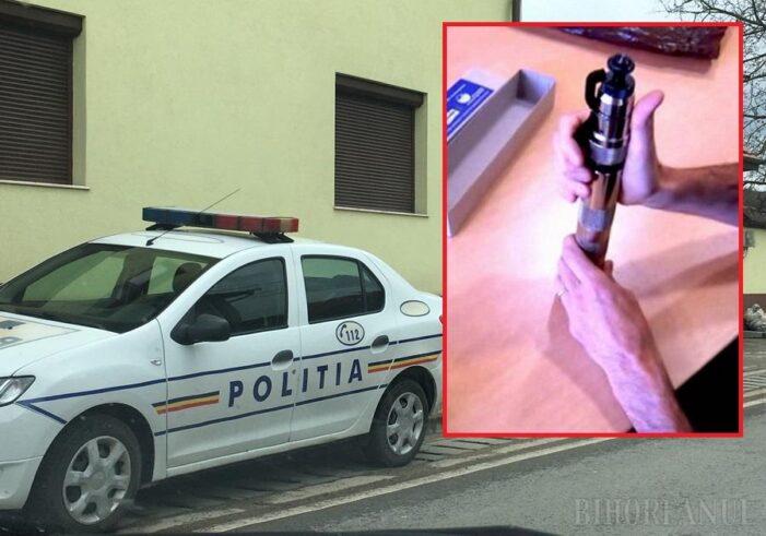 Un inginer s-a împuşcat cu o armă de asomat porci