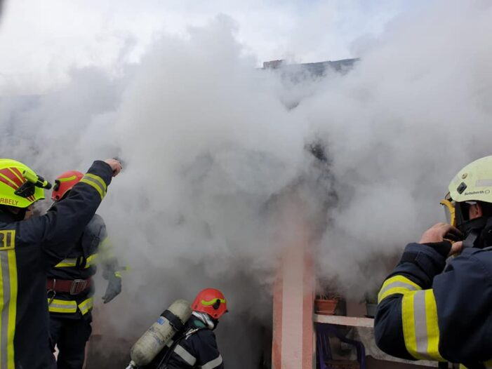 Incendiu la o casă din Madaras (Foto)