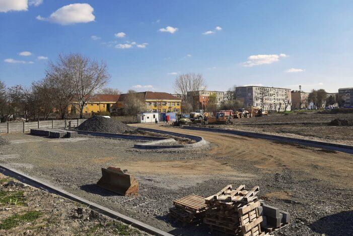 Zona Cubic va fi cel mai mare parc din Satu Mare. Stadiul lucrarilor (Foto)