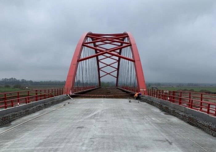 Podul care leaga Seiniul de Pomi, va fi gata in acest an (Foto