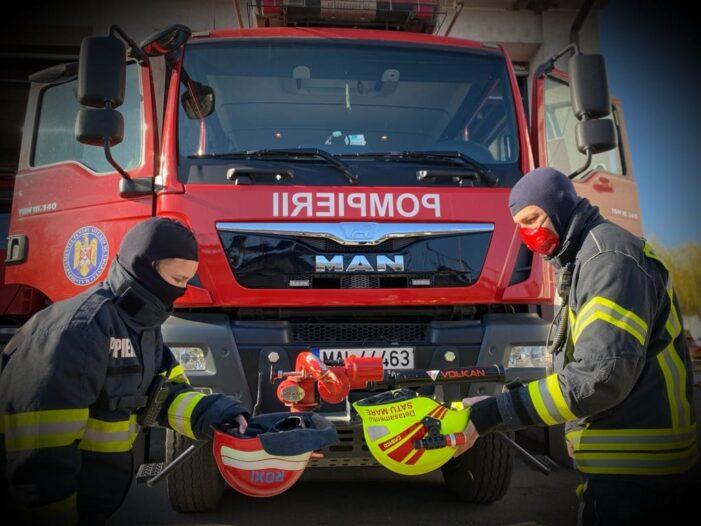 """Mesajul pompierilor către cadrele medicale: """"Jos pălăria !"""""""