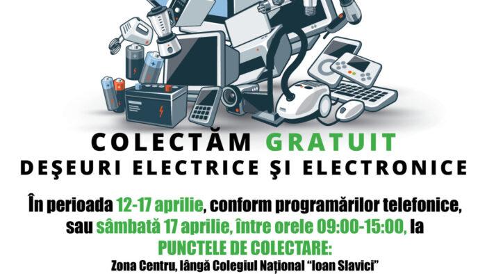Campanie de colectare a deseurilor electrice și electronice