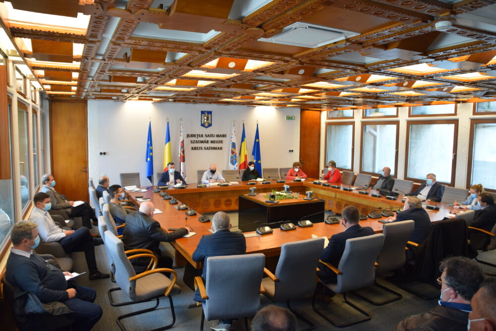 Sedinta cu primarii, la Prefectura (Foto)
