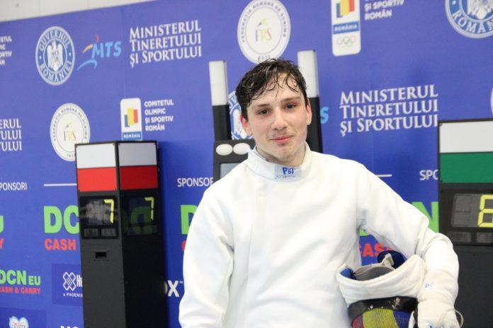 Satmareanul Alexandru Oroian a câștigat Cupa României la spadă