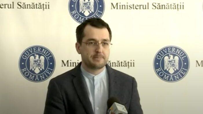 """Vlad Voiculescu, din nou fără mască: """"Să nu cumva să intre cineva să mă vadă"""""""