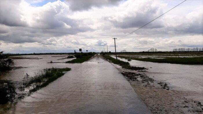 Drum judetean închis, intre Giungi și Ghirisa