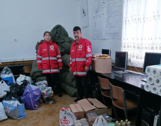 Crucea Roșie: Campania umanitara continua (Foto)