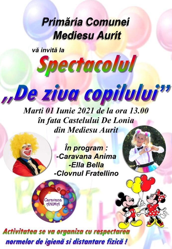 Spectacol pentru copii, la castel. Cine sunt invitatii ?