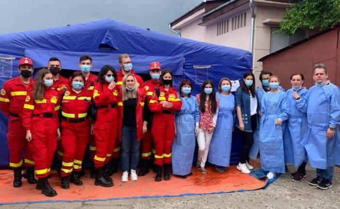 Sute de satmareni s-au vaccinat la Piata de Vechituri