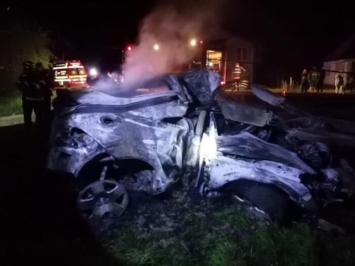 Accidentul din Gherta Mica. Imagini cutremuratoare (Foto)