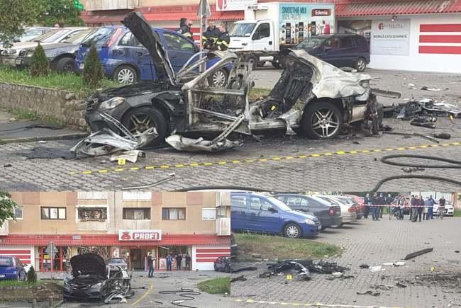 Explozia. Ce spune Politia despre moartea omului de afaceri din Arad ? (Foto)