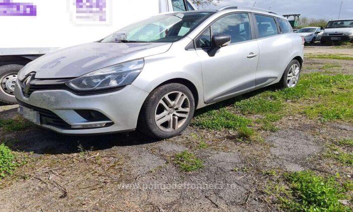 Mașina furată din Italia, indisponibilizata la Petea (Foto)