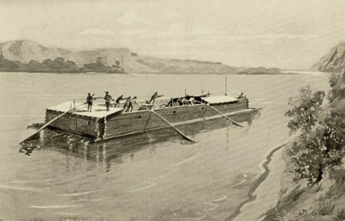 """Povestea piratilor de pe Somes. Talhareau """"corabiile"""" cu sare"""