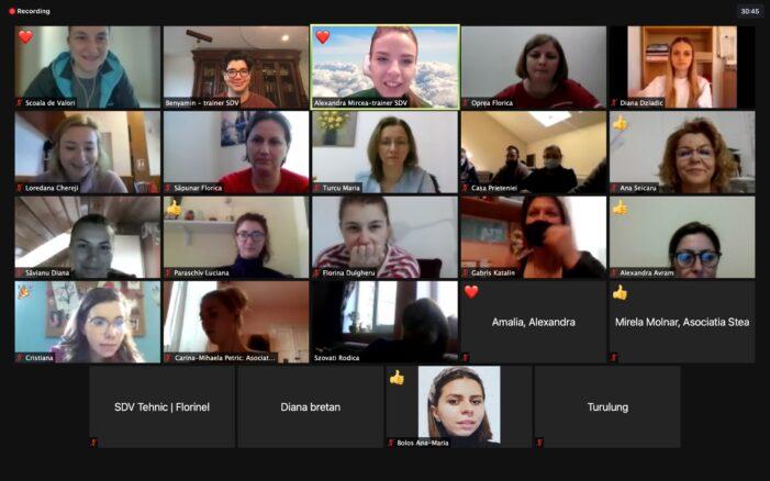 Program de formare în domeniul pedagogiilor digitale pentru profesioniști din centre de zi