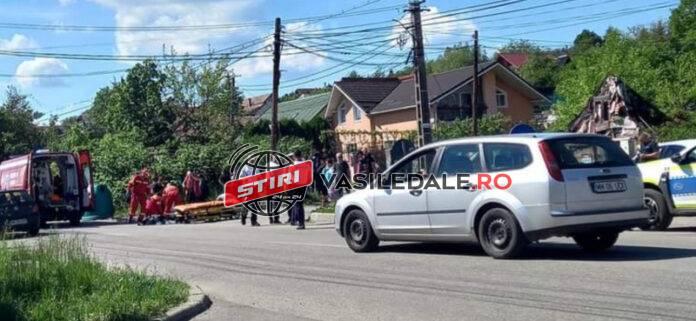 Pieton accidentat mortal de un polițist de la Rutiera (Foto)