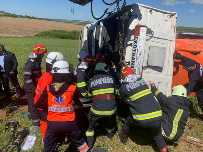 Ce spun pompierii despre accidentul din localitatea Socond ? (Foto)
