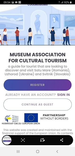 Lansarea aplicației COOLMUSEUMS a Muzeului Județean Satu Mare