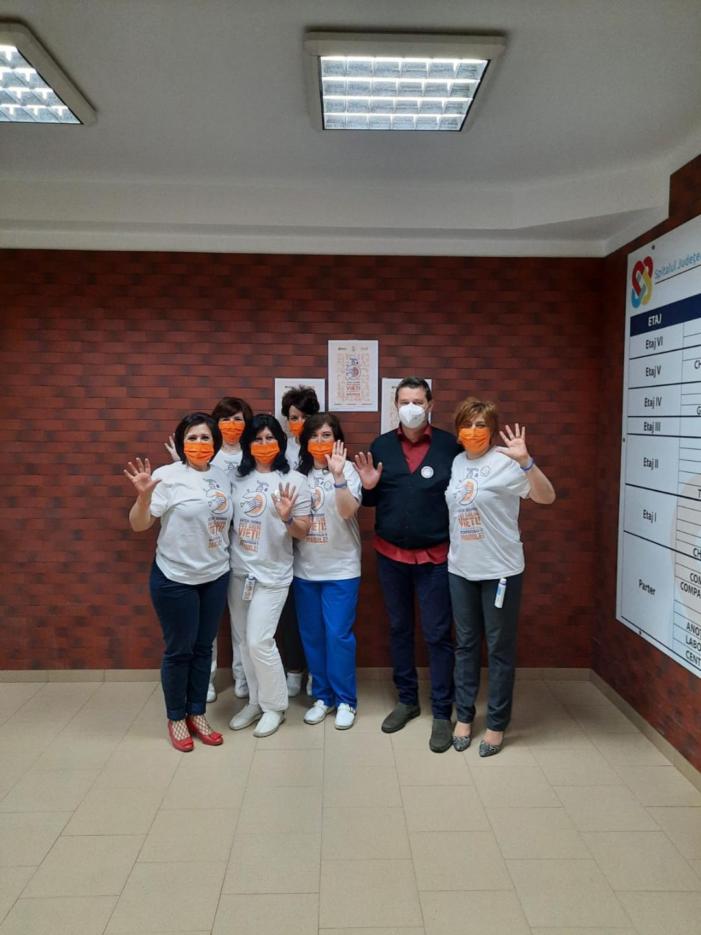 Campanie de igienă a mâinilor la Spitalul Județean Satu Mare