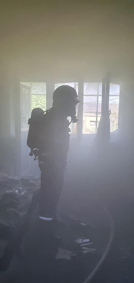 Incendiu la un apartament din Satu Mare (Foto)