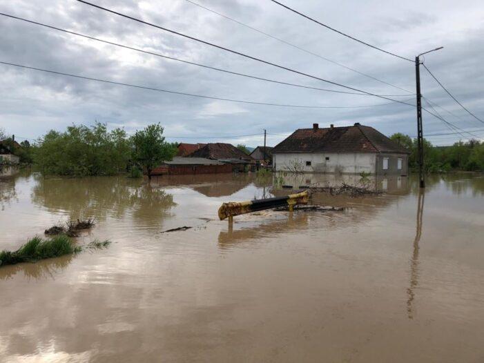 Pericol de inundatii pe Tur