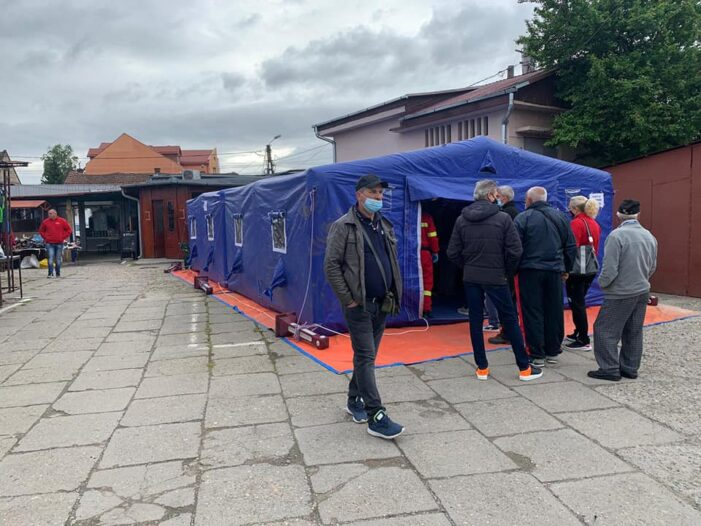 S-a dat startul vaccinarilor in Piata de Vechituri (Foto)