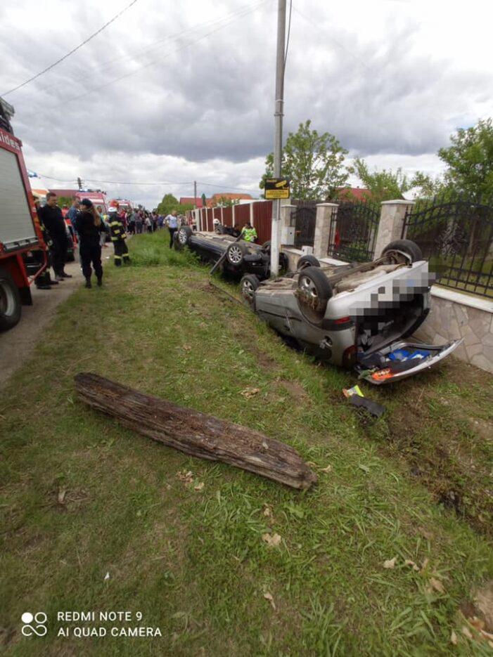 S-a activat Planul Roșu de intervenție ! Ce spun pompierii despre accidentul de la Borlesti ? (Foto)