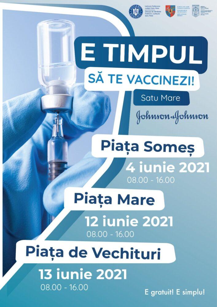 Maratonul Vaccinării la Satu Mare continuă