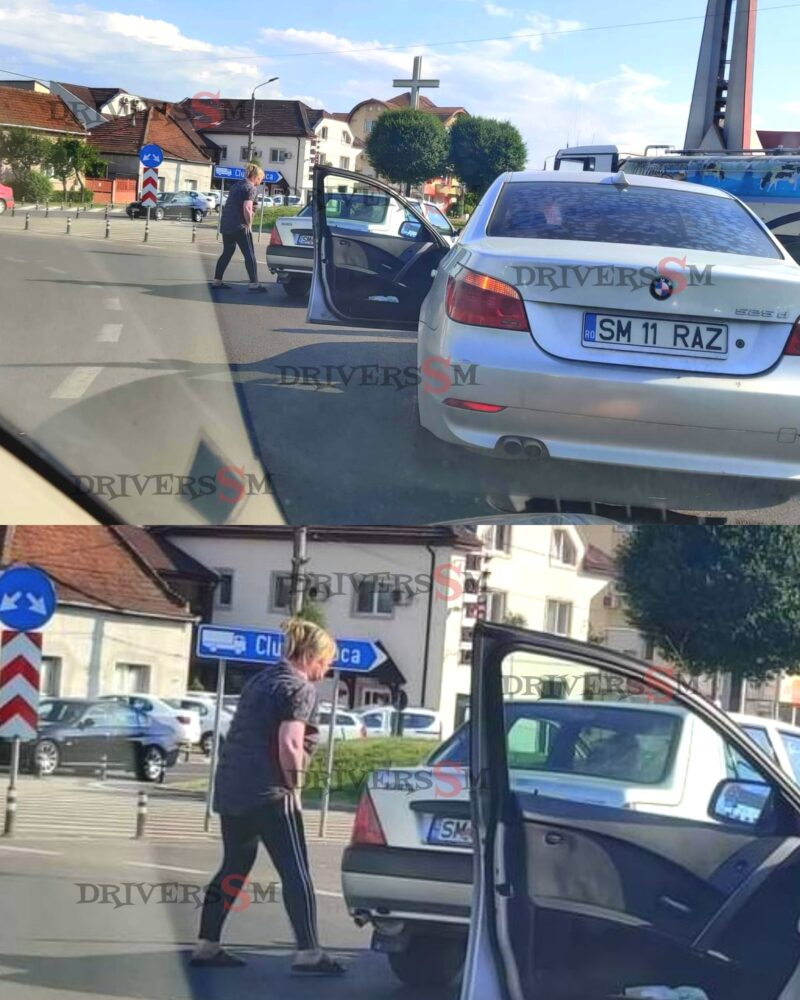 Scandal la Burdea ! Prodagonistii, un șofer și doua soferite (Foto)