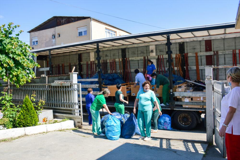 Ajutor din Germania pentru un centru de ingrijire din judet (Foto)