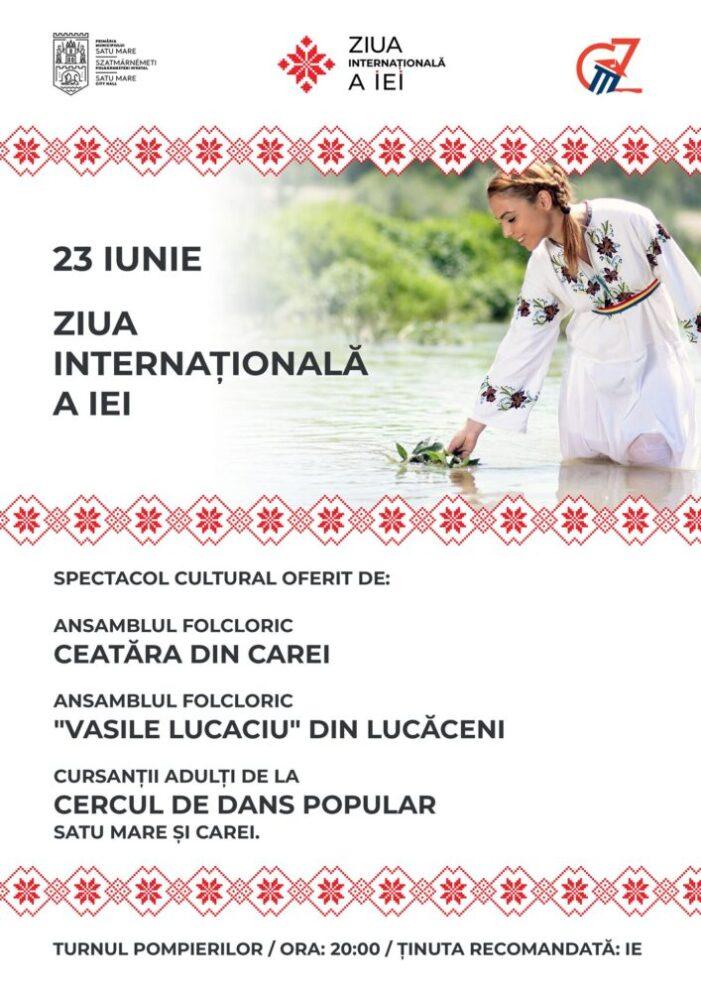 """Azi este """"Ziua Internationala a Iei"""". Cum va fi sarbatorita la Satu Mare ?"""