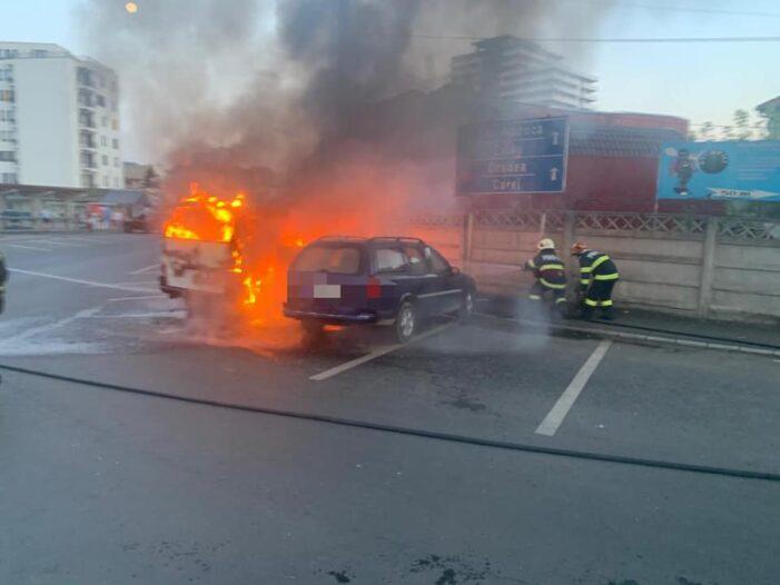 A ars ca o torta, in plin centrul orasului (Foto)