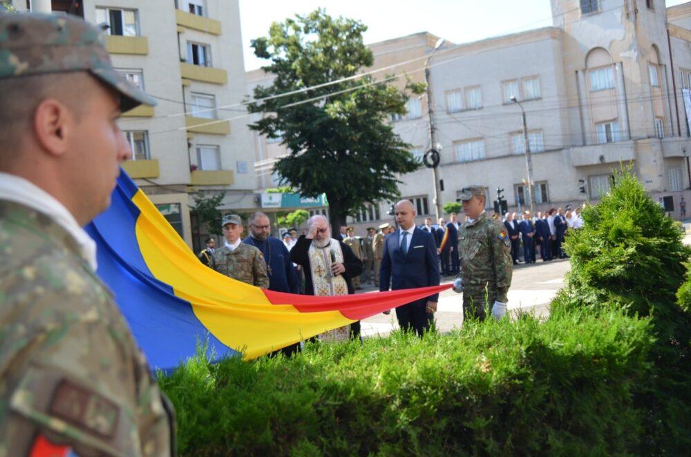 """""""Ziua Drapelului National"""" marcata la Satu Mare (Foto)"""