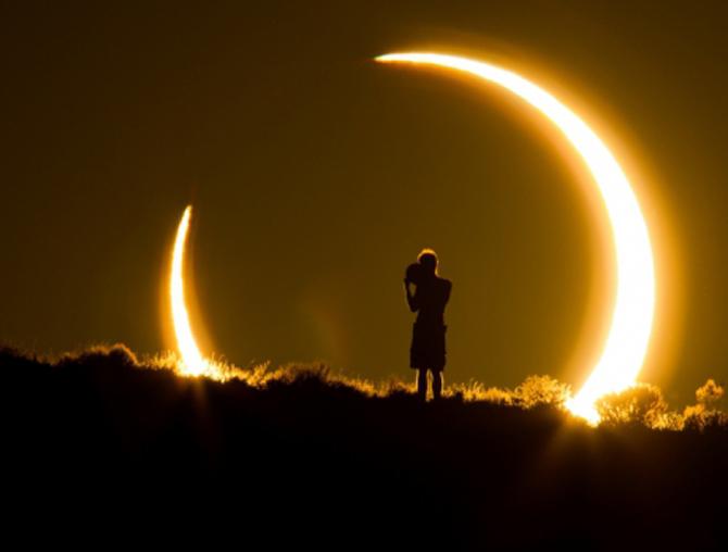 Eclipsa de maine periculoasa. Sfaturile unui oftalmolog