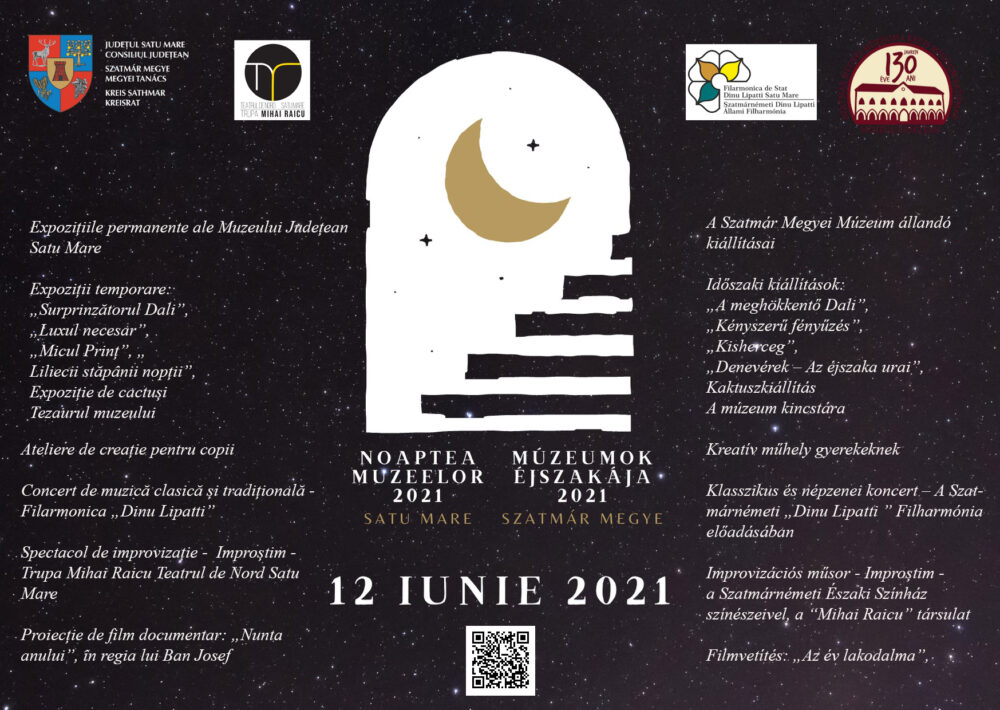 Noaptea Muzeelor, sambata, la Satu Mare