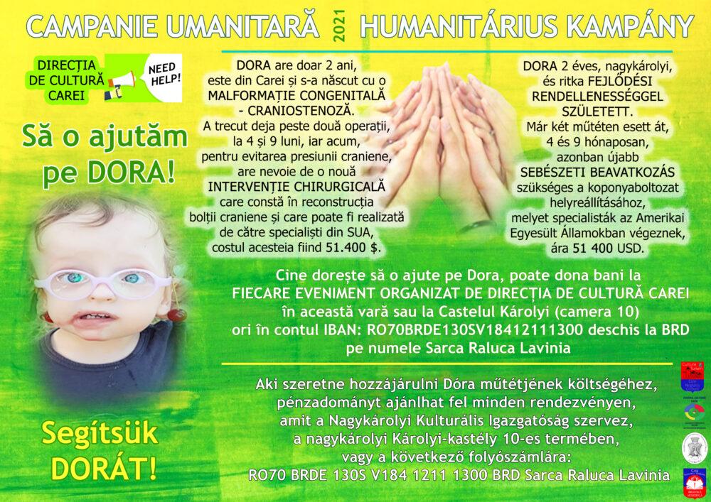 Campanie umanitară. Sa o salvam pe Dora ! (Foto)