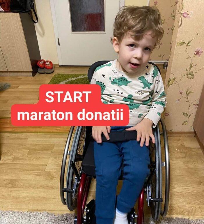Stefanel are nevoie de ajutor ! Ii mai lipsesc 100.000 de dolari pentru tratament !