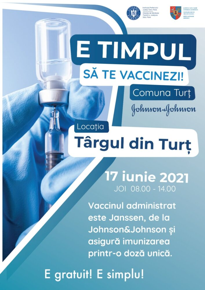 Maraton de vaccinare la Turt