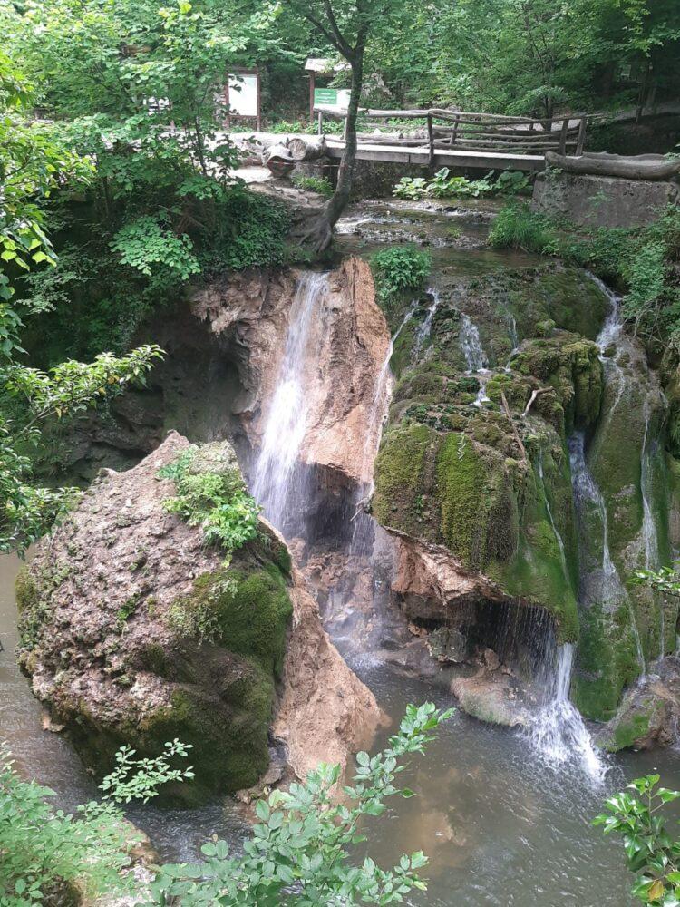 Cascada Bigar s-a prăbușit (Foto)