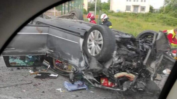 Accident teribil. Un copil a murit (Foto)