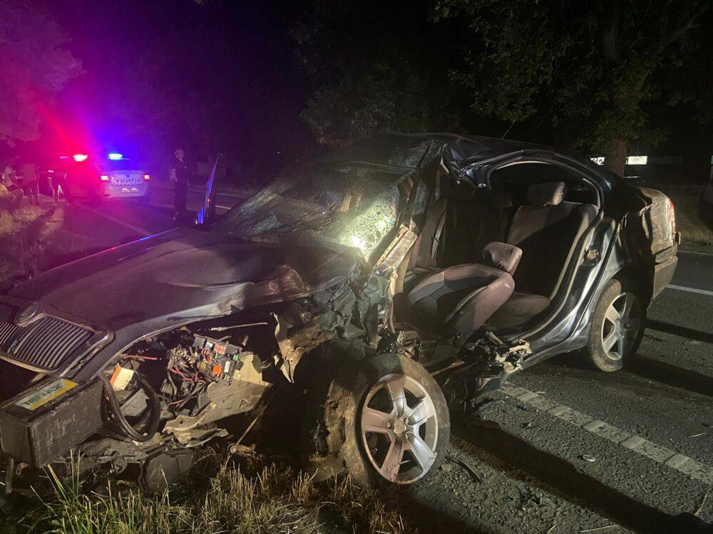 Accident intre Cicarlau si Busag ! O victima si o masina facuta praf (Fotogalerie)